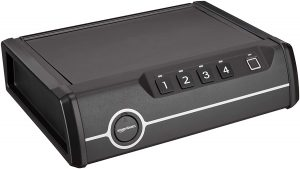 AmazonBasics Deluxe Safety Device with Biometric Lock