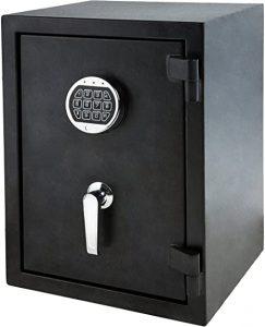 AmazonBasics Fire Resistant Box Safe with Keypad