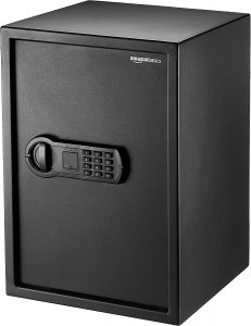 AmazonBasics Home Keypad Safe 50SAM