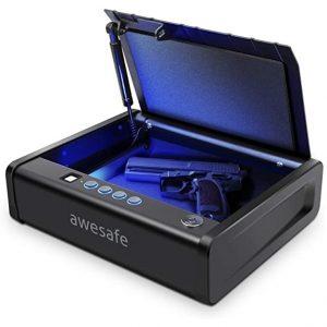 Awesafe Gun Safe with Biometric Lock