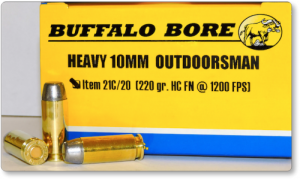 Buffalo Bore Heavy Outdoorsman 10mm Ammo