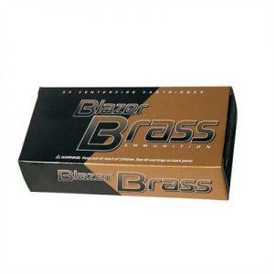 CCI 9mm Blazer Brass Luger Ammo