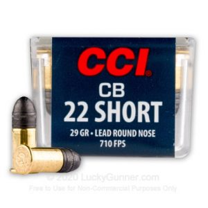 CCI SB Subsonic 100 Rounds