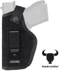 Creatrill Suede Leather IWB Holster