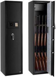 FCH Gun Safe Electronic 5-Gun Rifle Safe