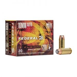 Federal 10MM Auto 200 Grains JSP