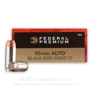 Federal 180 Grain Trophy Bonded JSP