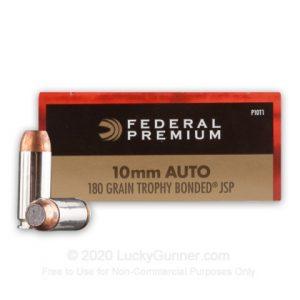 Federal 180 Grain Trophy Bonded JSP
