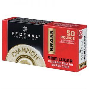 Federal 9mm Champion Training