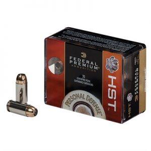 Federal 9mm Luger 124gr Hst Best Self Defense Ammo