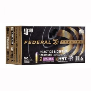 Federal Combo 40 S&W Ammo