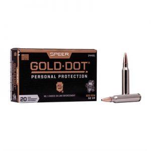 Federal Gold Dot Rifle 223