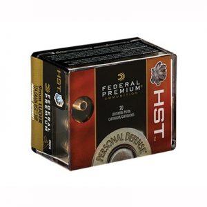 Federal Premium 147Gr HST 9mm Ammos