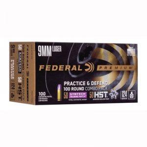 Federal Premium 9mm HST Luger Ammo
