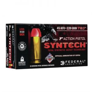 Federal Syntech Action 45 ACP Pistol Ammo