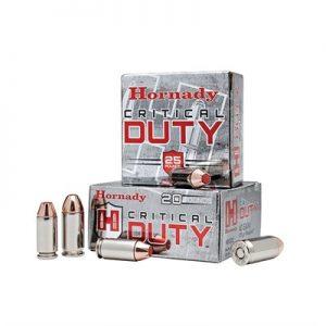 Flexlock 135Gr +P Hornady 9mm Critical Duty Ammos