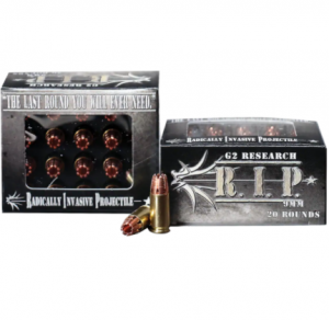 G2 Research R.I.P. 9mm Ammo