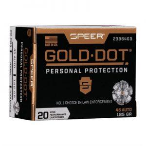 God Dot Gold Dot 45 ACP Ammo