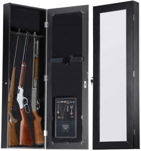 Gun Cabinet Mirror Armoire