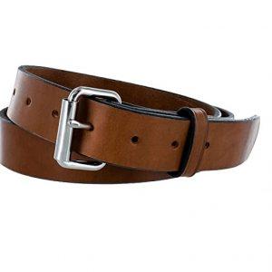 Hanks Gunner CCW Leather Gun Belt