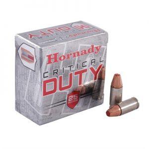 Hornady Ammos Critical Duty +P Flexlock 9mm 124Gr Luger