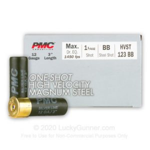 PMC One Shot High Velocity 12 Gauge