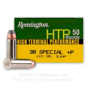 Remington High Terminal Performance 50 Rounds 38 Special