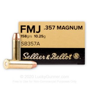 Sellier & Bellot 158 Grain Best 38 Special Ammo