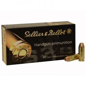 Sellier & Bellot 180 Grain FMJ 10mm Ammo