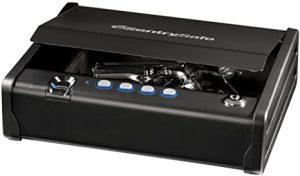 SentrySafe QAP1BE Gun Safe with Biometric Lock
