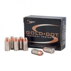 Speer Gold 9mm Dot Ammos 124Gr HP Luger