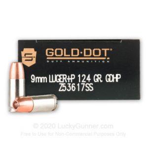 Speer Gold Best 9mm Ammo