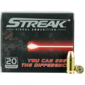 Streak Ammo Inc SKU 380090JHPSTR