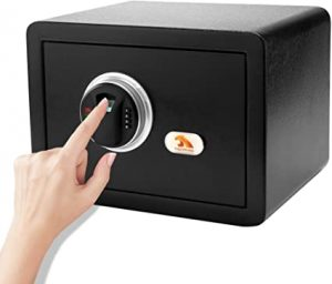 Tigerking Biometric Lock Box Safe