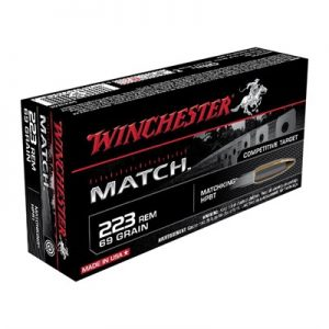 Winchester Match 223 Rem