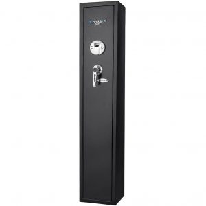 Barska Quick Access Biometric Rifle Safe Best Closet Gun Safe